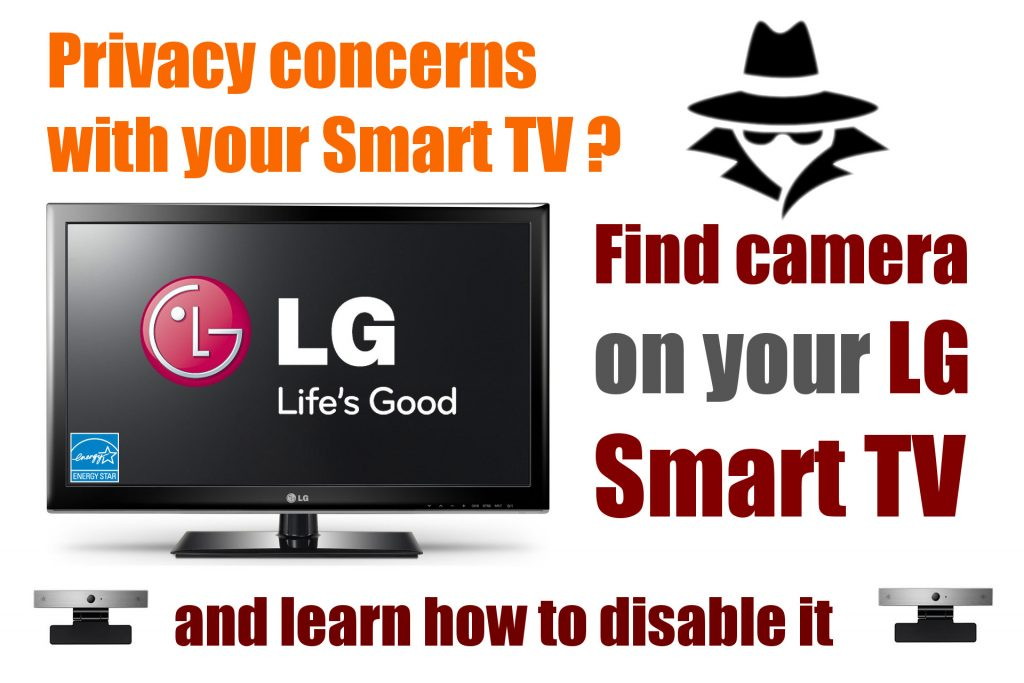 How to find camera in LG or Samsung smart TV