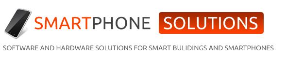 Smart homes – smartphone control